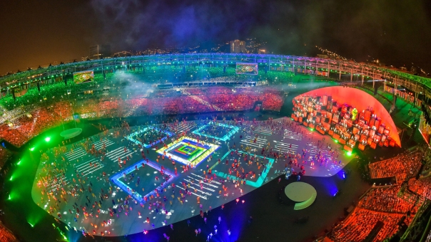 Celebrating Rio: Images from the Opening Ceremony