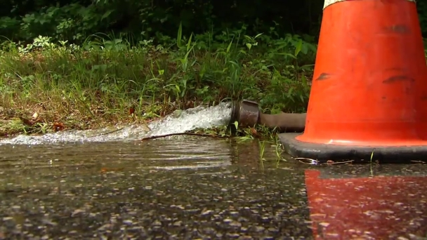 Fire Hydrant Releases 90,000 Gallons of Water in Canton