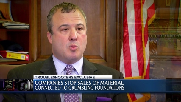 Companies Stop Sales of Materials Linked to Crumbling Foundations