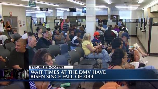 DMV Wait Times Increase