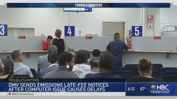 DMV to Start Billing for Emissions Late Fees