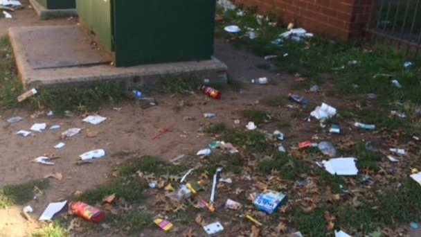 Trash Angers Residents of New Haven Public Housing Complex