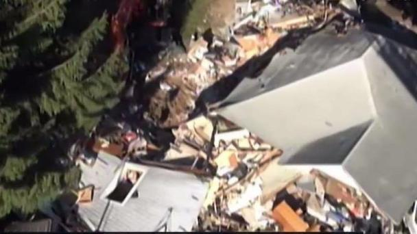 New Images of Vernon House Explosion Emerge 1 Year Later