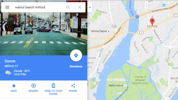 Google Will Fix Milford Walnut Beach Mapping Glitch