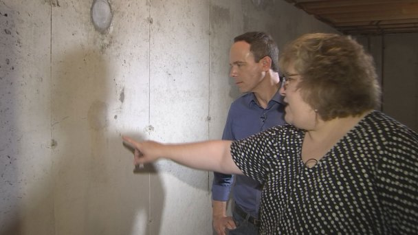Homeowner Finds Cracking After Concrete Poured 4 Years Ago