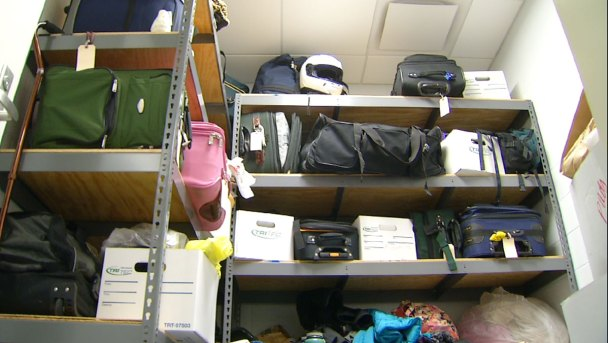 Valuable Items Abandoned Left Unclaimed at Bradley Airport
