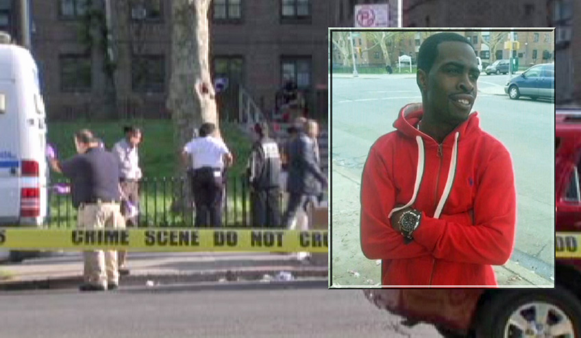 Rashaun Lloyd (inset) was killed in the confrontation with police.