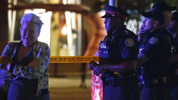 [NATL] Top News Photos: Toronto Shooter Kills 2, Injures 12 More
