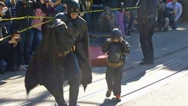 [BAY] San Francisco Turns into Gotham City for Batkid