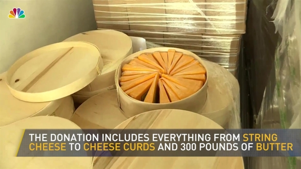 [NATL] 17,000 Pounds of 'Comfort' Cheese Donated to Houston