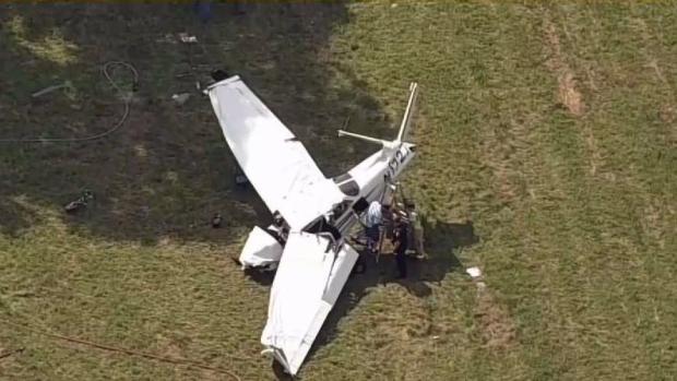 [HAR] 1 Dead, 2 Injured in New Milford Plane Crash