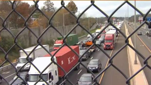 1 Dead After Crash on I-95 North in Branford | NBC Connecticut