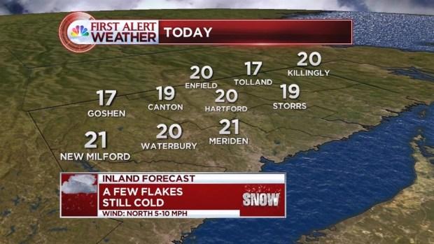 [HAR] Tuesday Morning Forecast