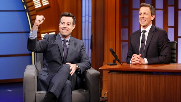 """[NATL] Carson Daly Talks About His Many Gigs on """"Late Night"""""""