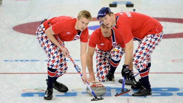 Crazy Curling Costumes