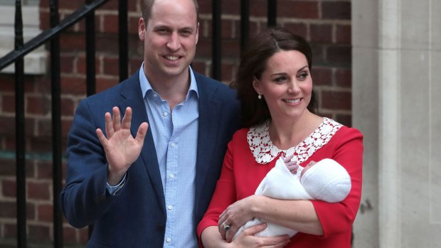 Royal Family Photos: Kate, William Welcome 3rd Child, a Boy