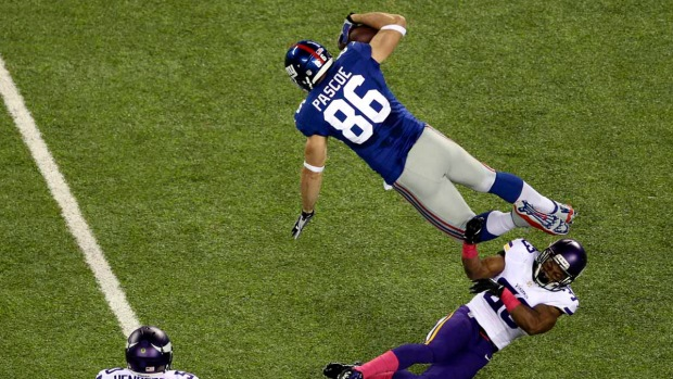 Game Photos: Giants-Vikings
