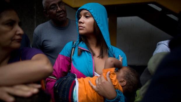 [NATL] Dramatic Images: Hunger Grips Venezuela