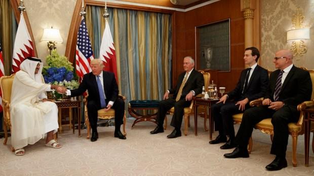 Top News Trump Meets With Arab Leaders in Saudi ArabiaAP
