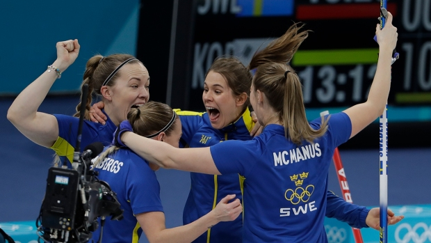 [NATL] Feb. 25 Olympics Highlights in Photos: 'Garlic Girls' Falls to Sweden in Curling, OAR Wins Hockey Gold