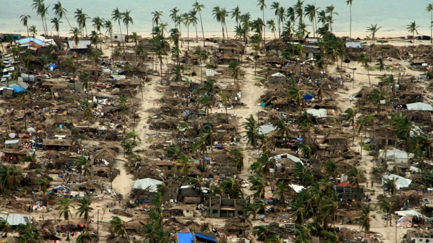 Extreme Weather Photos: 2nd Cyclone Sweeps Over Mozambique