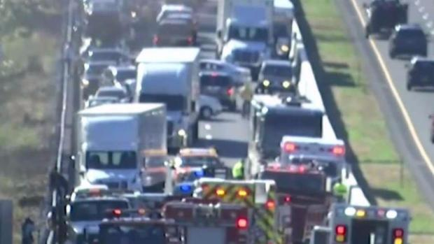 Area of Double Fatal Crash on I-95 Busy Spot for First