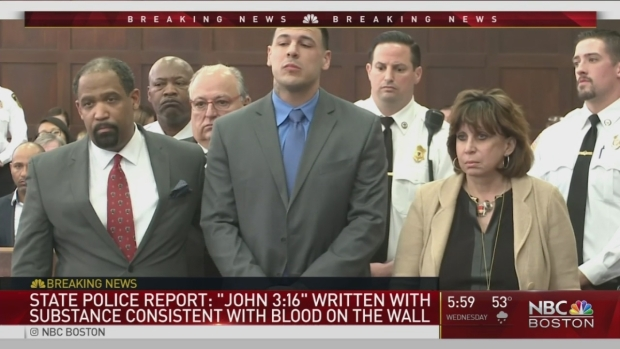 [NATL-NECN] Mass. State Police Release Report on Death of Aaron Hernandez