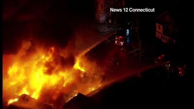 Bridgeport Fire Aerials