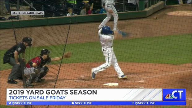 Hartford Yard Goats Tickets Go on Sale - NBC Connecticut