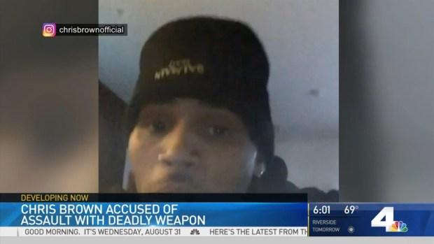 [LA] Chris Brown Released on $250K Bail