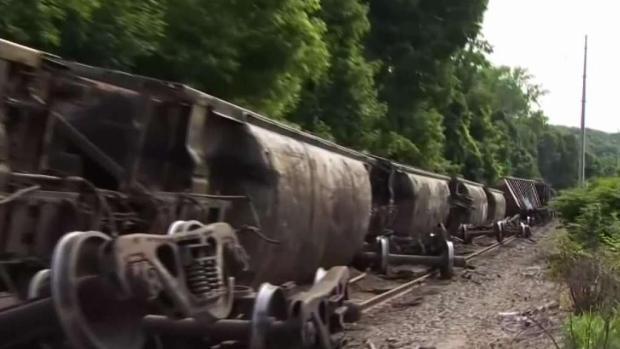 Partial Train Derailment in Bristol | NBC Connecticut