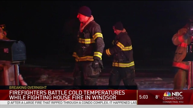 [HAR] Cold Causes Issues for Firefighters in Windsor