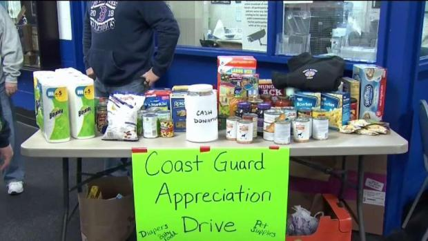 [HAR] Collecting Goods for Coast Guard Families in West Haven