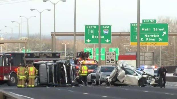 Cos Cob Woman Dies After 4-Car Crash on Charter Oak Bridge