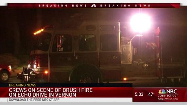 [HAR] Crews Battle Brush Fire at Valley Falls Park in Vernon