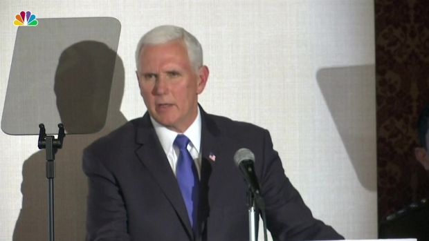 [NATL] Pence Calls for More Sanctions Against Venezuela