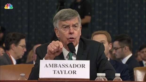 Amb. Taylor: Withholding Aid to Ukraine 'Made No Sense'
