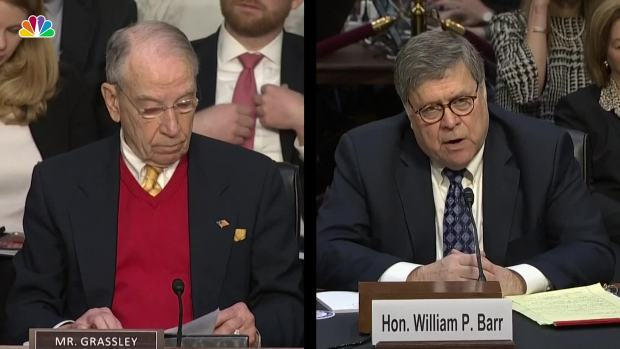 [NATL] Barr Insists He Will 'Faithfully Enforce' Criminal Justice Reform