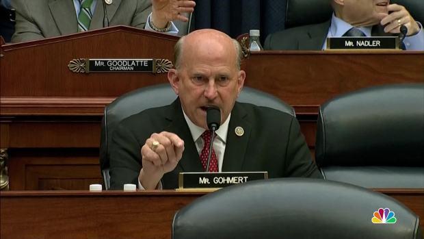 [NATL] Rep. Gohmert Invokes FBI Agent Strzok's Marriage in Hearing