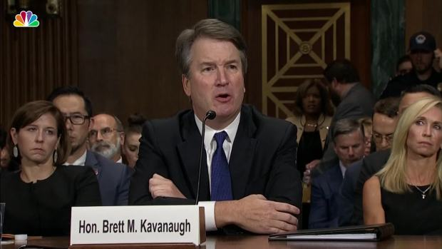 [NATL] Kavanaugh Pressed About Drinking Beer