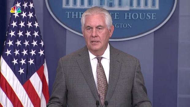 [NATL] Tillerson: US Increases Pressure on North Korea With Terror Sponsor Designation