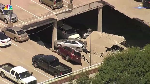 Texas Parking Structure Collapses Twice in 1 Day