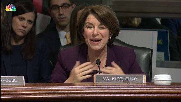 [NATL] Sen. Klobuchar to GOP Colleagues: 'Where Is the Bravery In This Room?'
