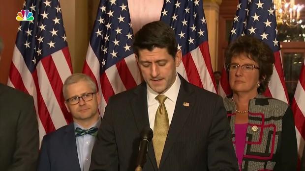 [NATL] Ryan Begs Senate Dems to Not Shut Down Government