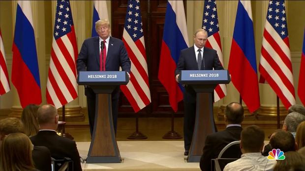 Trump, Putin News Conference: Watch the Full Q&A