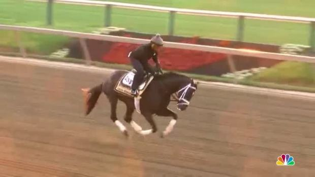 [NATL] Derby Winner Always Dreaming Ready for Preakness