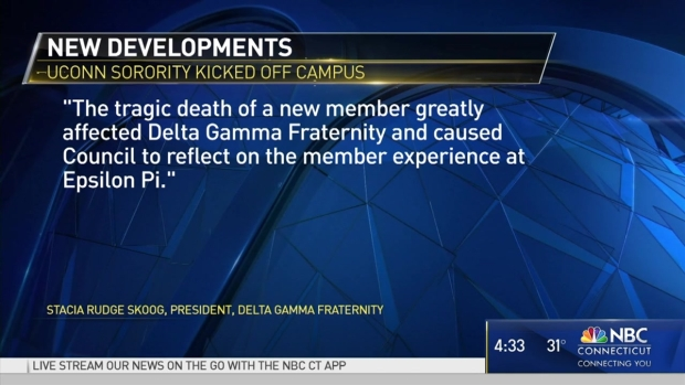 Delta Gamma Closes UConn Chapter Following Student Death