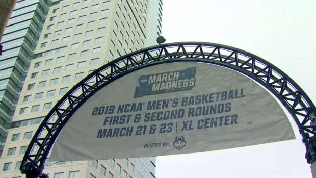 Downtown Hartford Packed for NCAA Tournament