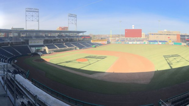 Take a Peek Inside the New Dunkin' Donuts Park in Hartford