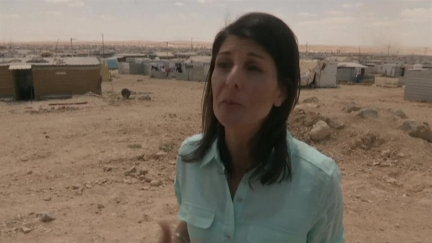 [NATL] 'Not Going to Stop': Haley Promises Support for Syrians
